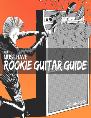 The Must Have Rookie Guitar Guide: A beginner electric guitar book of the future